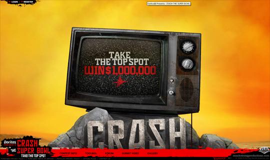 Doritos crash the superbowl